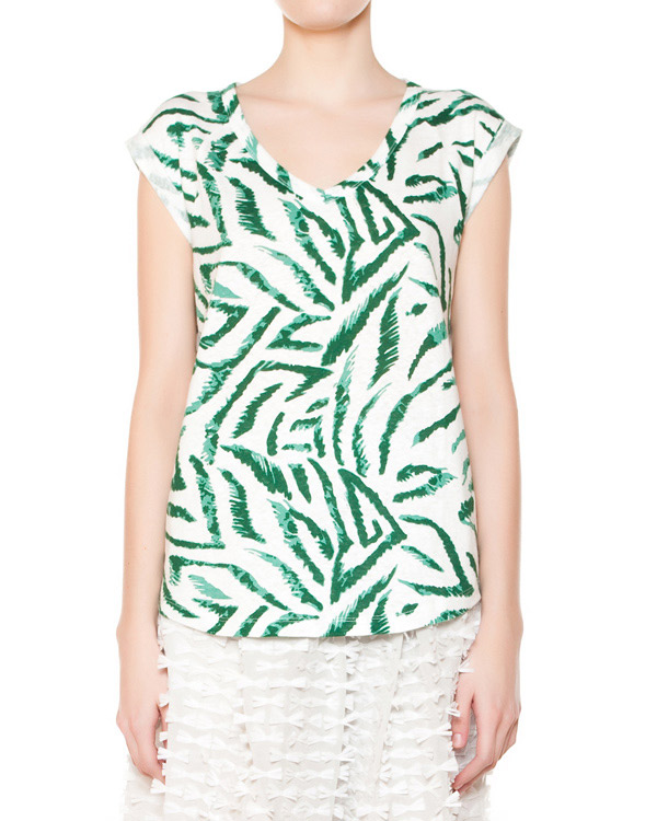 женская футболка Essentiel, сезон: лето 2015. Купить за 4900 руб. | Фото 1