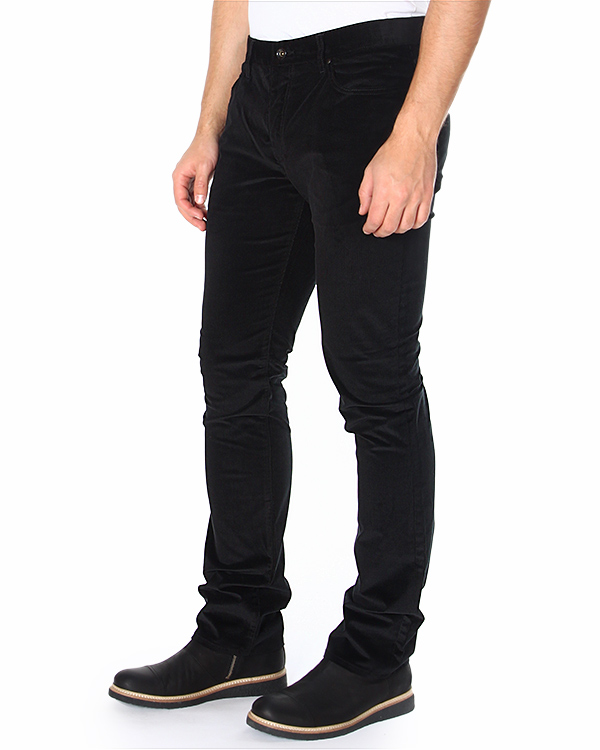 джинсы из денима, обработанного под вельвет артикул J244P3 марки JOHN VARVATOS купить за 10300 руб.