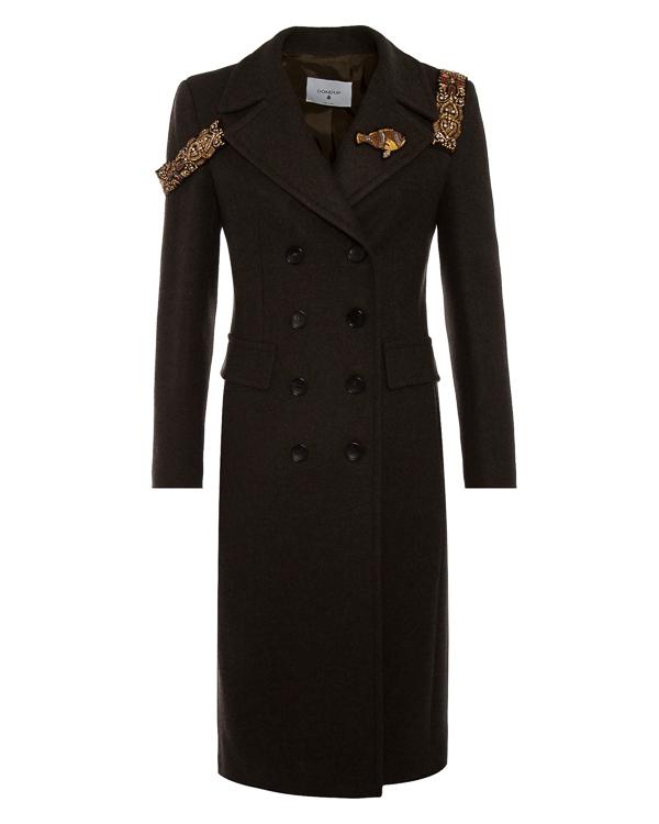 пальто  артикул J958 марки DONDUP купить за 97100 руб.