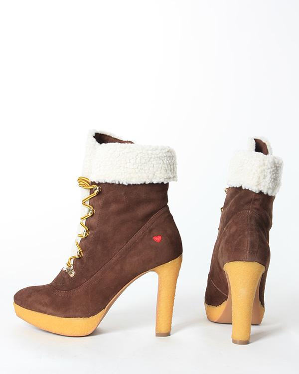 женская ботильоны MOSCHINO LOVE, сезон: зима 2012/13. Купить за 9100 руб. | Фото 3