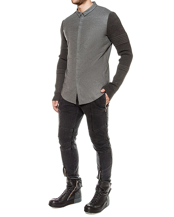 мужская рубашка Juun.J, сезон: зима 2016/17. Купить за 18900 руб. | Фото 3