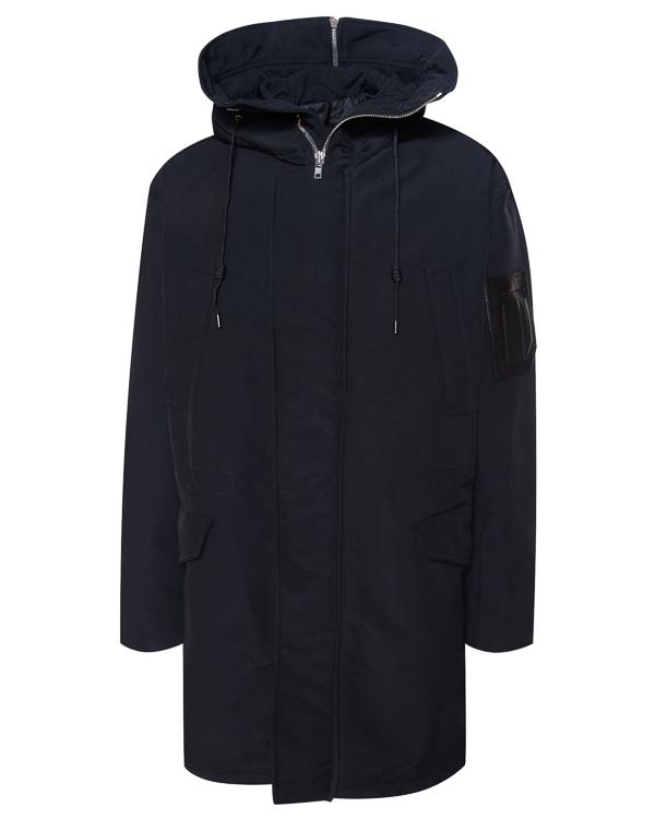 пальто из микса хлопка и нейлона артикул JC7839P815 марки Juun.J купить за 82800 руб.