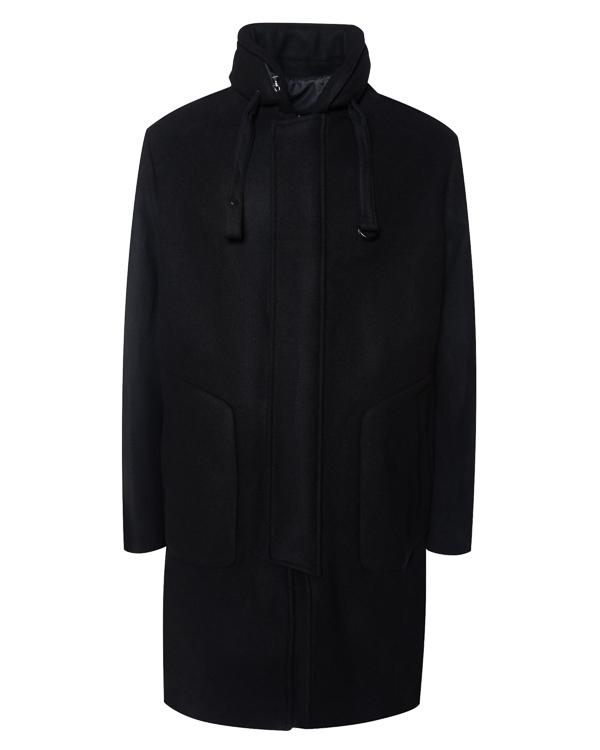 пальто прямого кроя из шерсти артикул JC7X39P615 марки Juun.J купить за 104400 руб.