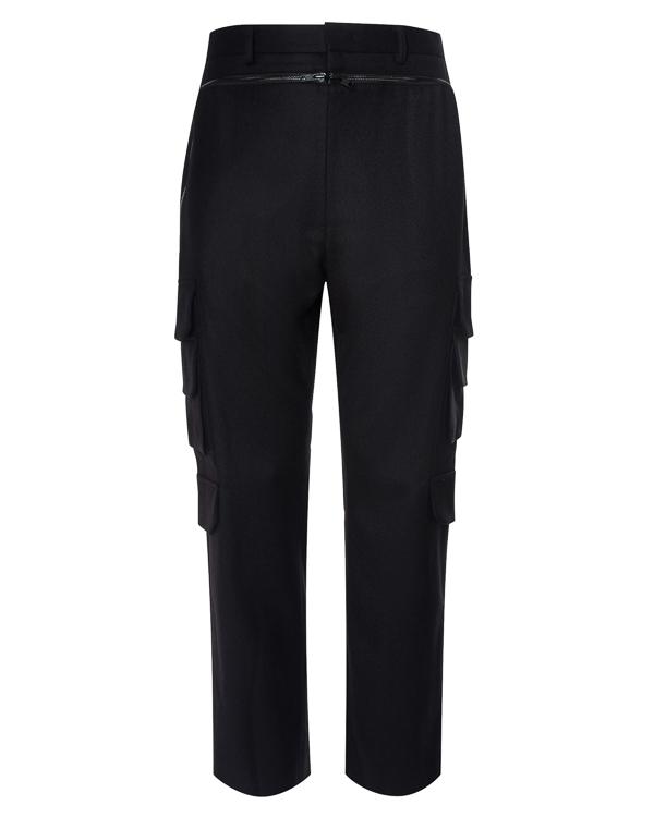 брюки из шерсти с накладными карманами артикул JC7Y21P915 марки Juun.J купить за 50400 руб.