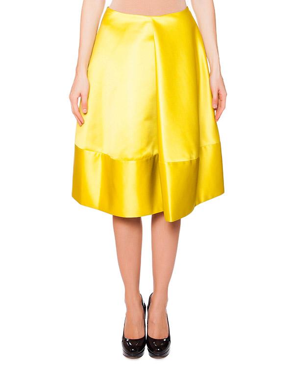 женская юбка Jil Sander, сезон: лето 2015. Купить за 16400 руб.   Фото 1