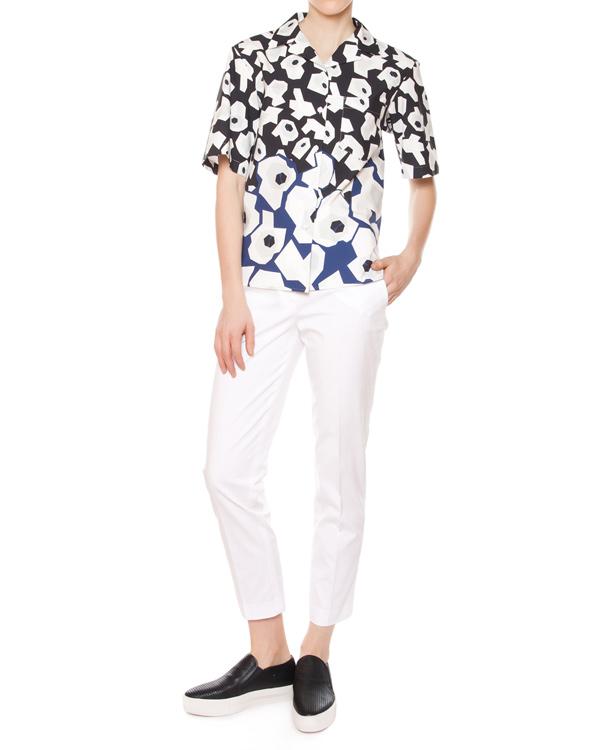 женская брюки Jil Sander, сезон: лето 2015. Купить за 13700 руб. | Фото 3