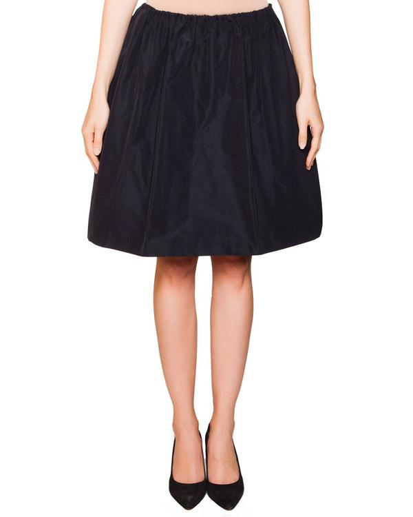 юбка пышная из плотного гладкой ткани артикул JDF110A марки Jil Sander купить за 10100 руб.
