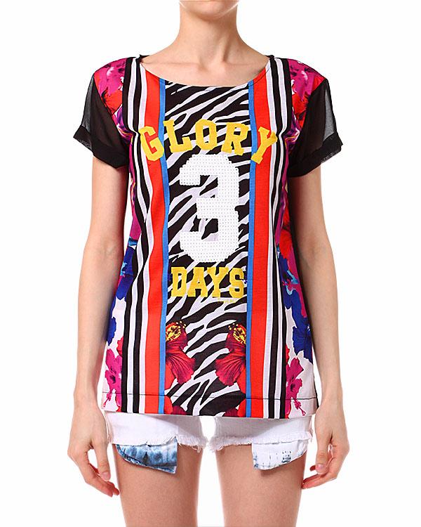 женская футболка Sweet Matilda, сезон: лето 2014. Купить за 2700 руб. | Фото 1