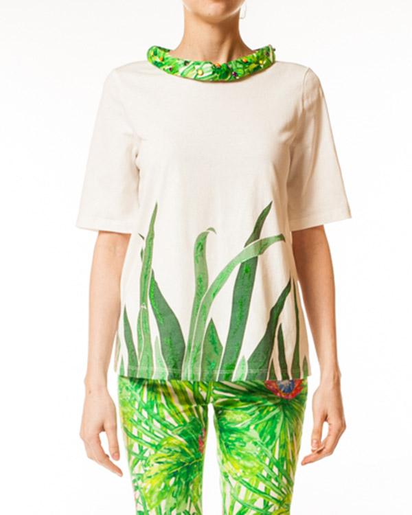 женская футболка JO NO FUI, сезон: лето 2014. Купить за 7900 руб. | Фото 1