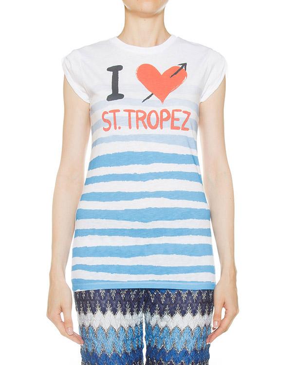 футболка  артикул JOLIE-STRT марки MC2 Saint Barth купить за 3200 руб.