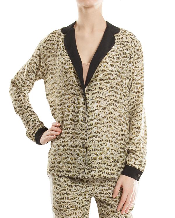 женская блуза JO NO FUI, сезон: лето 2013. Купить за 12600 руб. | Фото 1