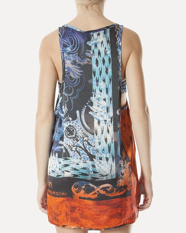 женская топ Balmain beachwear, сезон: лето 2012. Купить за 3200 руб. | Фото 3