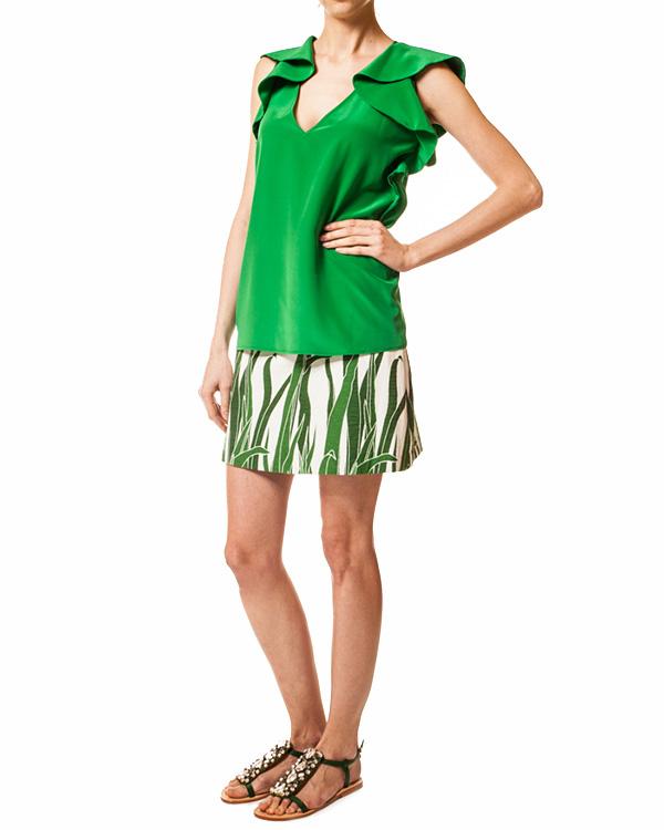 женская юбка JO NO FUI, сезон: лето 2014. Купить за 6400 руб. | Фото $i
