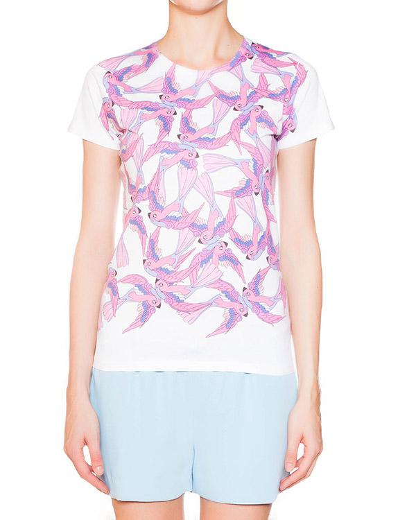 женская футболка P.A.R.O.S.H., сезон: лето 2015. Купить за 3400 руб.   Фото 1