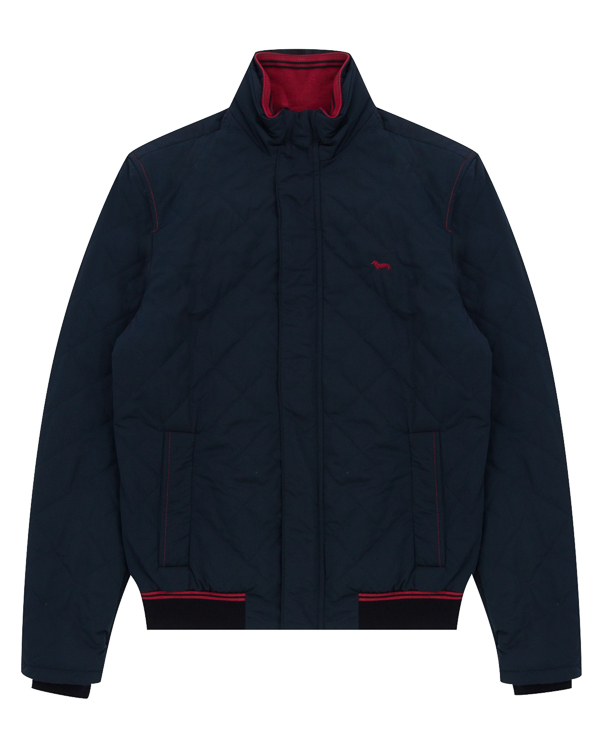 куртка из прочного матового материала артикул K0738 марки Harmont & Blaine купить за 30400 руб.