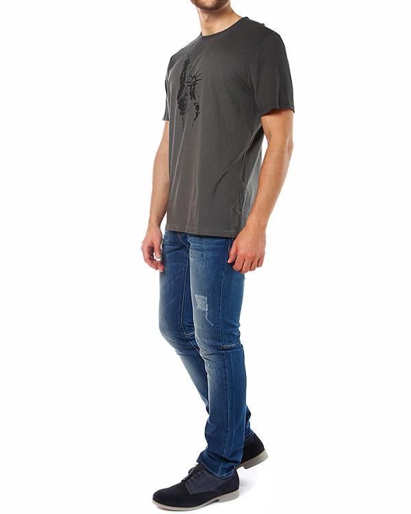 мужская футболка JOHN VARVATOS, сезон: лето 2014. Купить за 3200 руб. | Фото 3