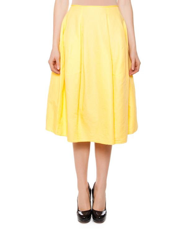 женская юбка Hache, сезон: лето 2015. Купить за 13400 руб. | Фото 1