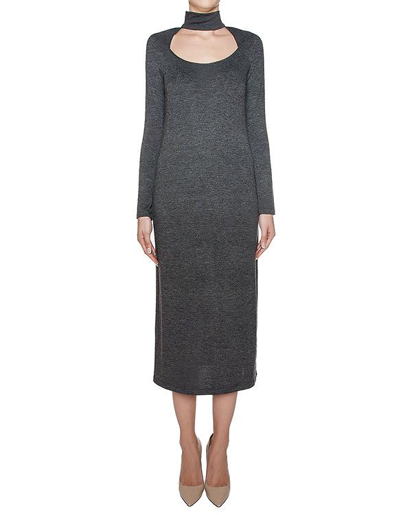 платье из мягкого хлопкового трикотажа артикул KFW1601 марки Kalmanovich купить за 21800 руб.
