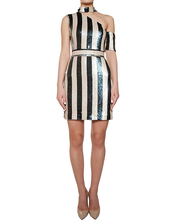 платье расшитое цветными пайетками артикул KFW1608 марки Kalmanovich купить за 37000 руб.