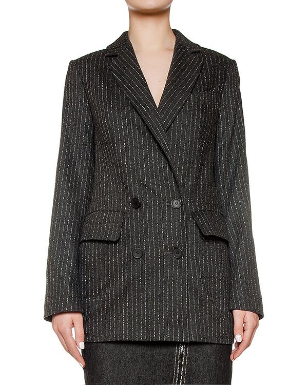 пиджак из плотной шерстяной ткани в тонкую полоску артикул KFW1630 марки Kalmanovich купить за 41200 руб.