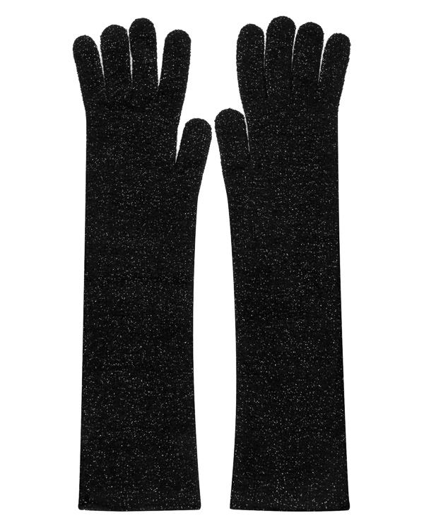 перчатки из трикотажной шерсти с блеском люрекса артикул KG1210303 марки Graviteight купить за 11250 руб.