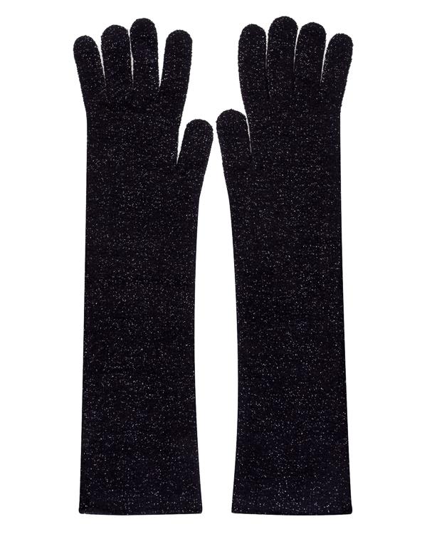 перчатки из трикотажной шерсти с блеском люрекса артикул KG1210360 марки Graviteight купить за 11250 руб.