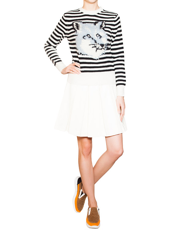 женская юбка Maison Kitsune, сезон: зима 2015/16. Купить за 13100 руб. | Фото 3