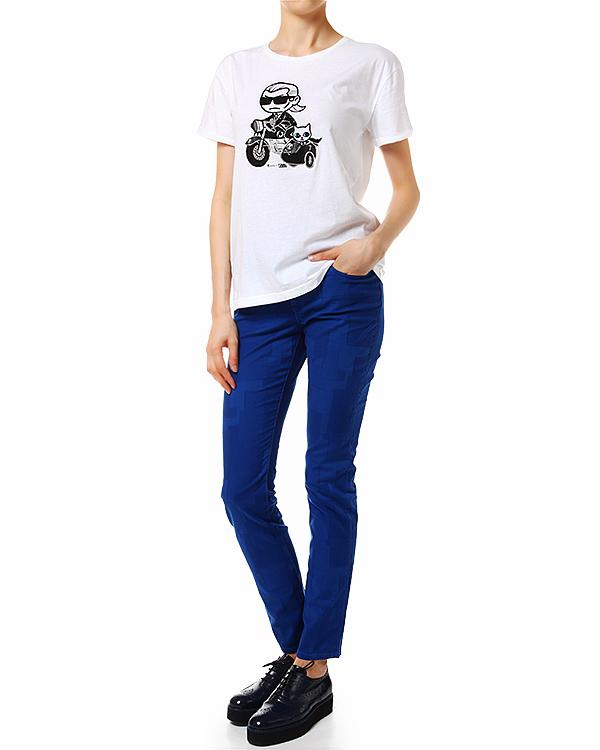 женская джинсы KARL LAGERFELD, сезон: лето 2014. Купить за 5600 руб. | Фото 3