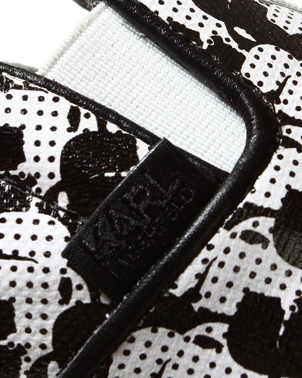 женская слипоны KARL LAGERFELD, сезон: лето 2014. Купить за 9600 руб. | Фото 5