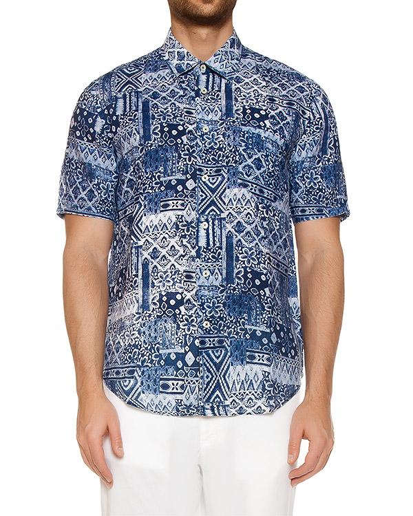 рубашка  артикул L0M1220 марки 120% lino купить за 9900 руб.