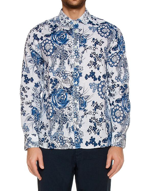 рубашка  артикул L0M1311 марки 120% lino купить за 11600 руб.