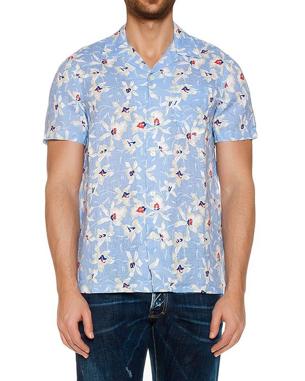 рубашка  артикул L0M1320 марки 120% lino купить за 5000 руб.