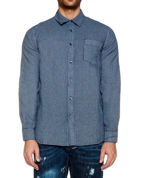 рубашка  артикул L0M1425 марки 120% lino купить за 5600 руб.