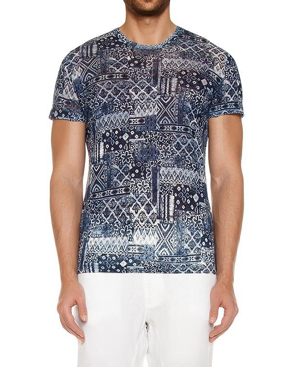 футболка  артикул L0M7288-F328 марки 120% lino купить за 8500 руб.