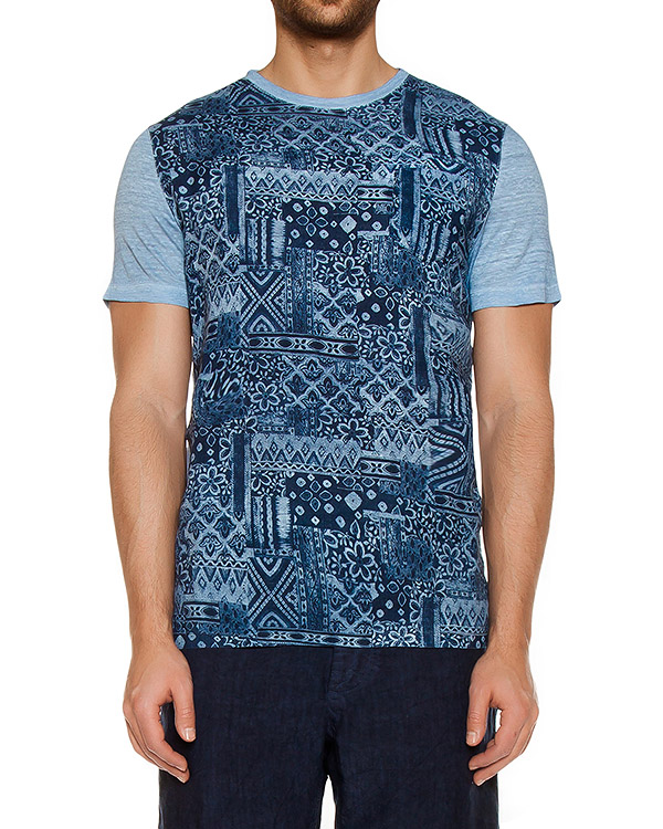 футболка  артикул L0M7360-F326 марки 120% lino купить за 8700 руб.