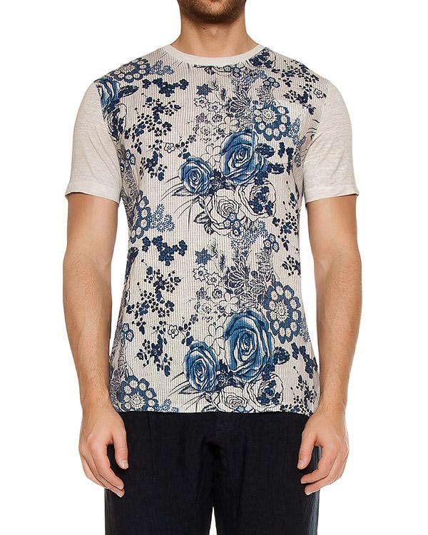 футболка  артикул L0M7360-F337 марки 120% lino купить за 4400 руб.