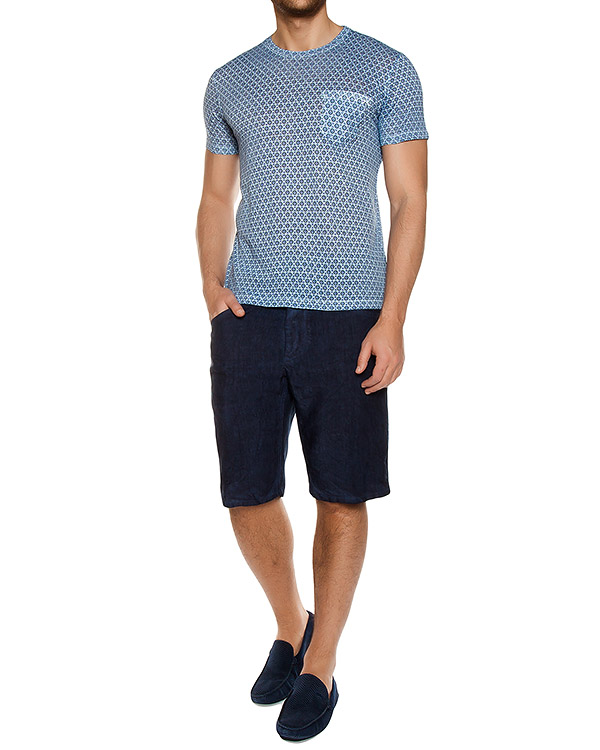мужская футболка 120% lino, сезон: лето 2017. Купить за 4700 руб. | Фото $i