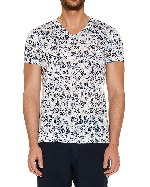 мужская футболка 120% lino, сезон: лето 2017. Купить за 4300 руб. | Фото $i