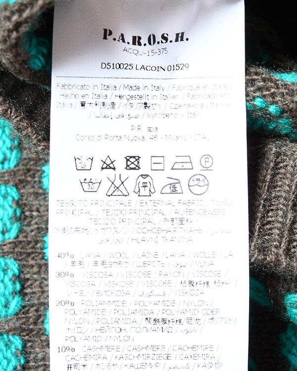 женская джемпер P.A.R.O.S.H., сезон: зима 2015/16. Купить за 6300 руб.   Фото $i