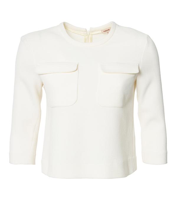 блуза из мягкой шерсти  артикул LAKIX310077 марки P.A.R.O.S.H. купить за 11700 руб.