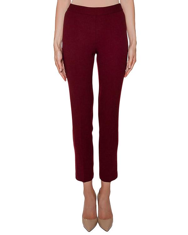 брюки слегка укороченные, из мягкой шерсти артикул LAKIXY230049 марки P.A.R.O.S.H. купить за 8300 руб.