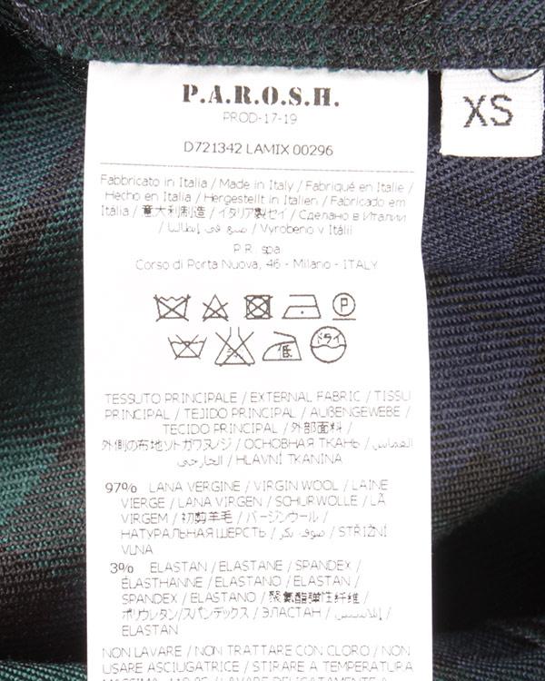 женская платье P.A.R.O.S.H., сезон: зима 2017/18. Купить за 36800 руб.   Фото $i