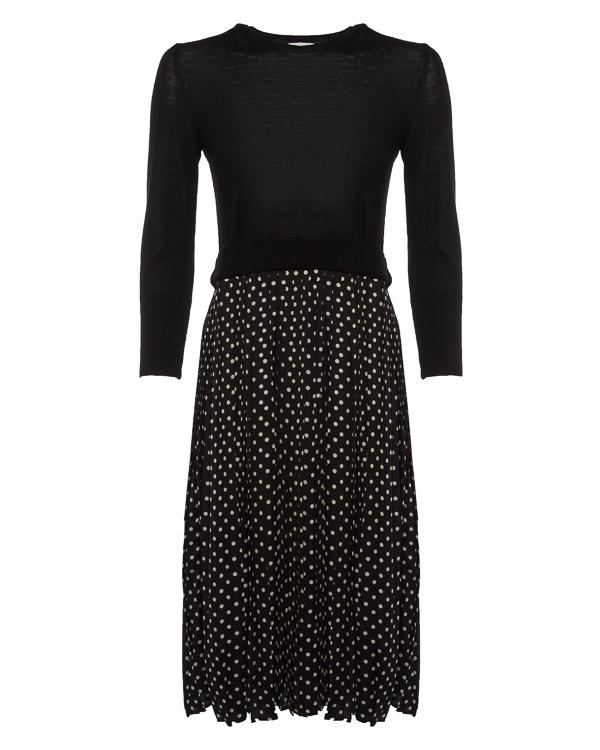 платье приталенного силуэта из комбинированного материала артикул LAPY550011 марки P.A.R.O.S.H. купить за 26400 руб.