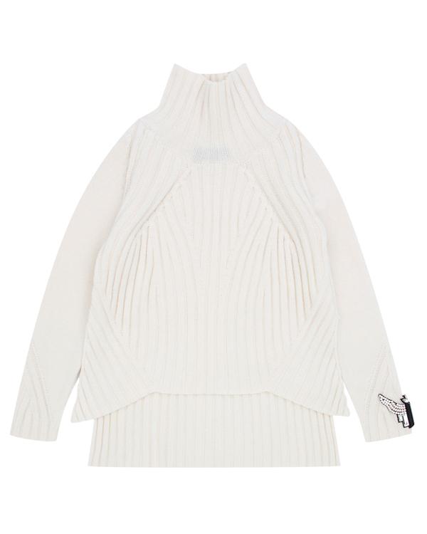 свитер из трикотажной шерсти  артикул LE0331R35 марки L'Edition купить за 25300 руб.