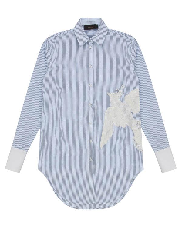 рубашка из хлопка с вышивкой артикул LE0378R3W марки L'Edition купить за 20100 руб.