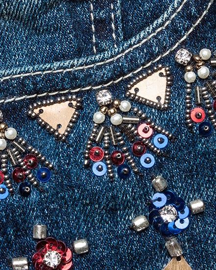 женская джинсы Essentiel, сезон: лето 2016. Купить за 16300 руб. | Фото 4