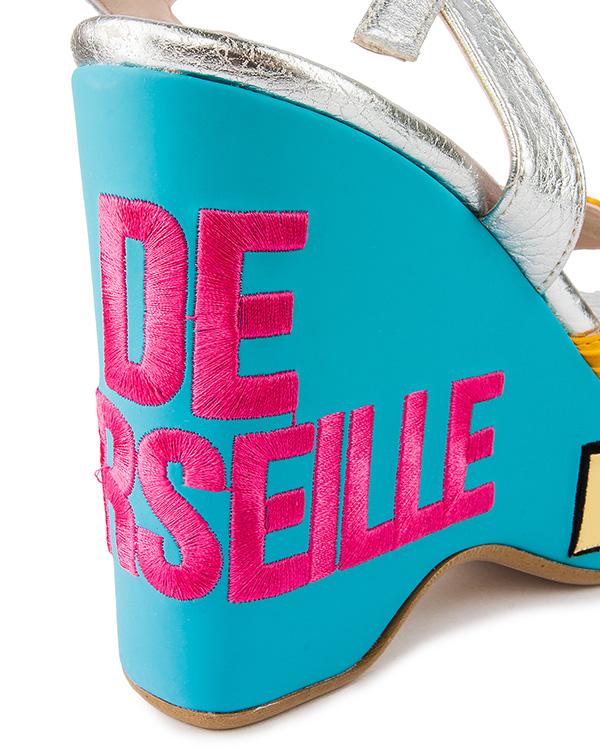женская босоножки Leo Studio Design, сезон: лето 2016. Купить за 7600 руб. | Фото 4