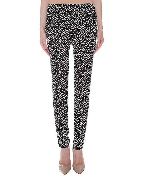 брюки из легкой фактурной ткани с узором артикул LETITGO марки Essentiel купить за 6900 руб.