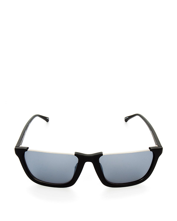 очки из матового пластика с платиновыми линзами артикул LFL449C3SUN марки Linda Farrow купить за 49300 руб.