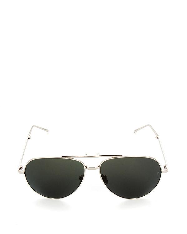 очки складные из титана с покрытием из белого золота артикул LFL518C5SUN марки Linda Farrow купить за 50300 руб.